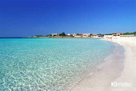 meteo salento porto cesareo spiaggia di torre lapillo porto cesareo foto gallery