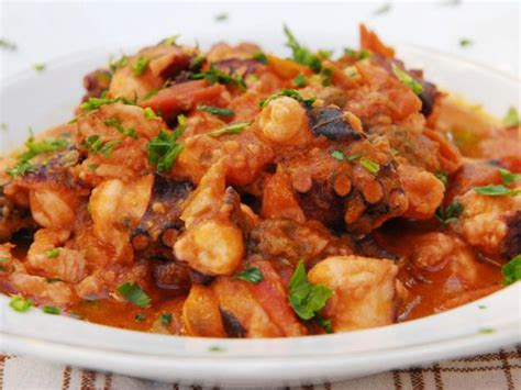 octopus  tomato sauce recipes cooking channel recipe