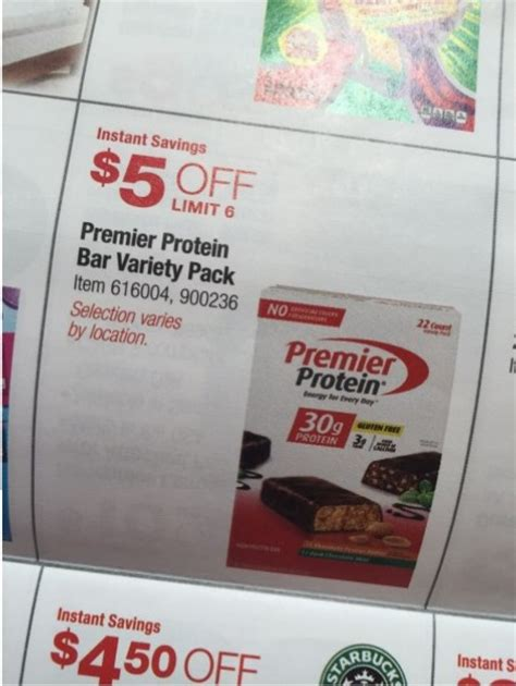 Protein Bar Before Bed by 5 Premier Protein Bars At Costco Thru September 27