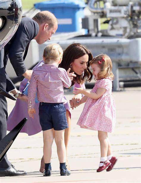 princess kate princess charlotte has tantrum kate tells off princess as