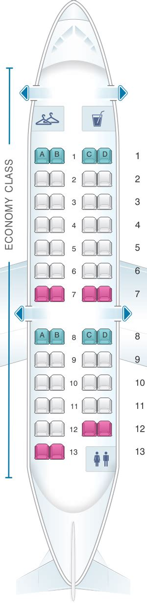 crj 100 seating seat map american airlines crj 200 seatmaestro