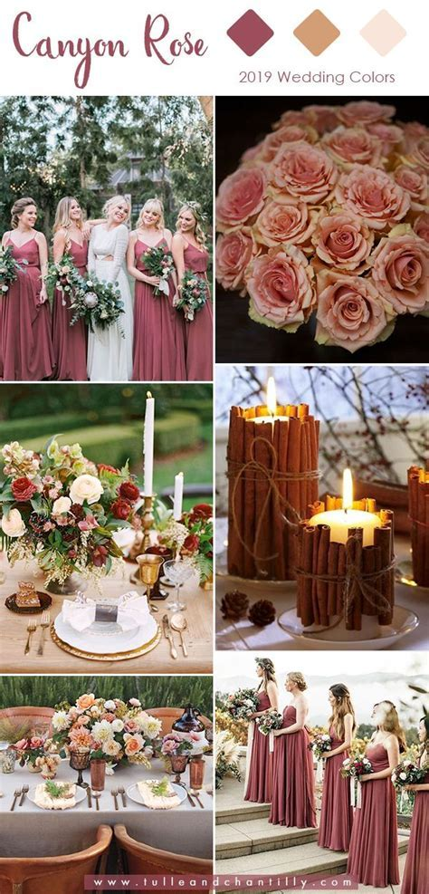 Top 10 Wedding Colors for 2019 Trends with Bridesmaid
