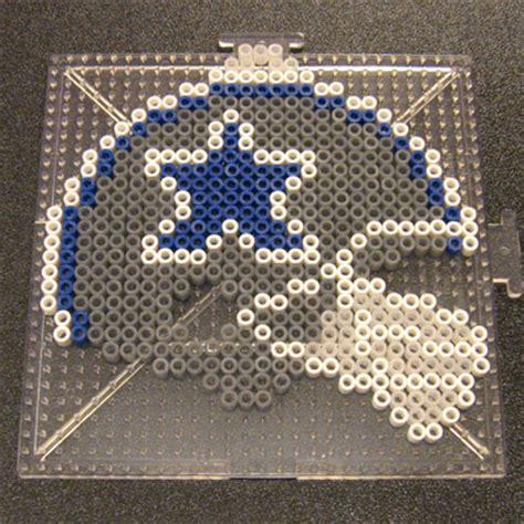 bead store dallas cowboys helmet perler1 by flood7585 on deviantart