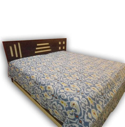 indian bed covers handmade indian ikat kantha bed cover handicrunch com