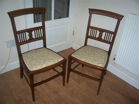 pretty bedroom chairs pretty pair of inlaid mahogany bedroom chairs