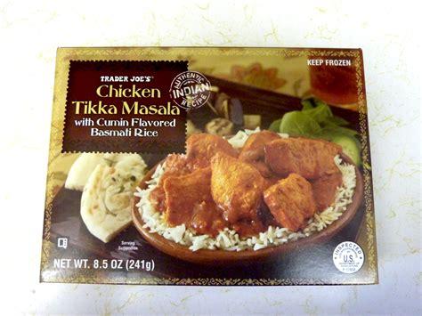 trader joe s treats what s at trader joe s trader joe s chicken tikka masala