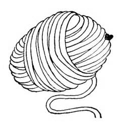 Knitting Wool Colouring Pages sketch template