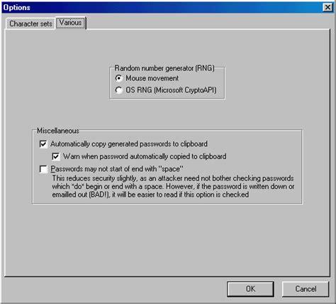generatore di lettere casuali password generator
