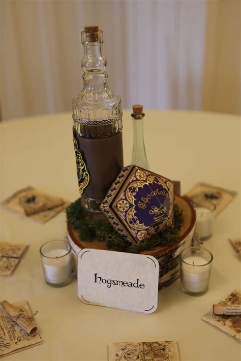 Hogsmeade (Harry Potter) table centerpiece   My Geeky but