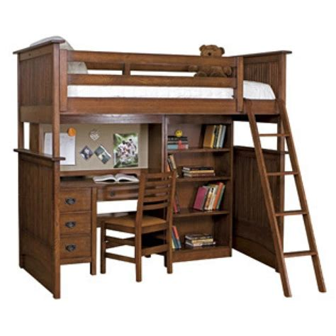 full bunk bed with desk twin loft bed with desk and couch best home furniture design
