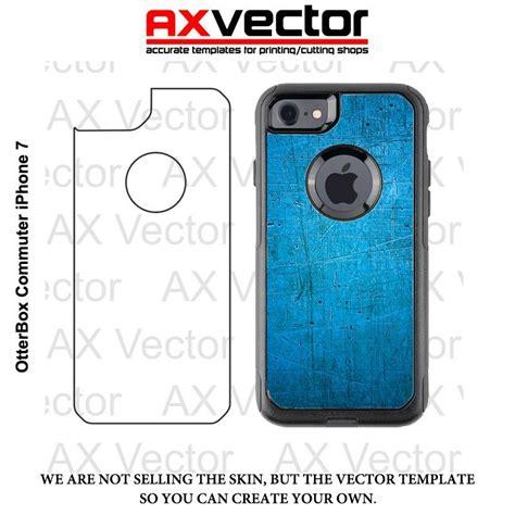 adobe illustrator iphone template otterbox commuter iphone 7 vector template vector