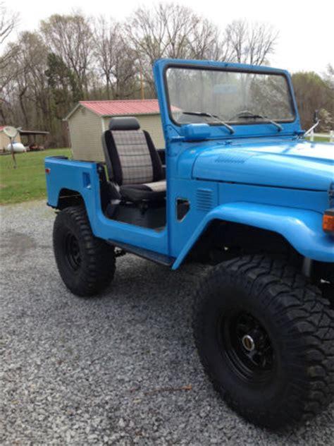 toyota land cruiser suv 1979 blue for sale. fj40301571