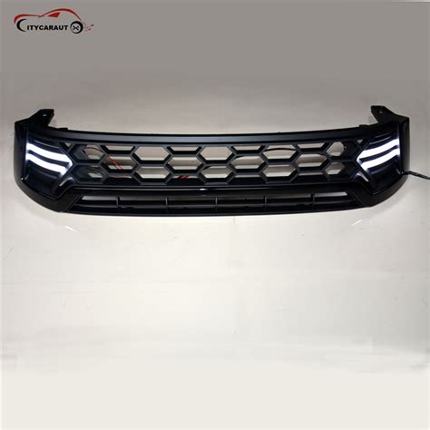 All New Fortuner Grill Depan Activo Front Grill Activo 2016 2017 led raptor grille for toyota hilux revo front grill cover black raptor grille