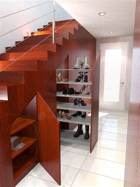 Rangement Chaussures Sous Escalier 4246 rangement chaussures sous escalier amenagement placard