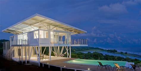 Beach Design Homes Eco Friendly Beach House In Costa Rica Modern House Designs