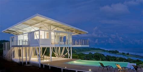 Eco Friendly Beach House In Costa Rica Modern House Designs