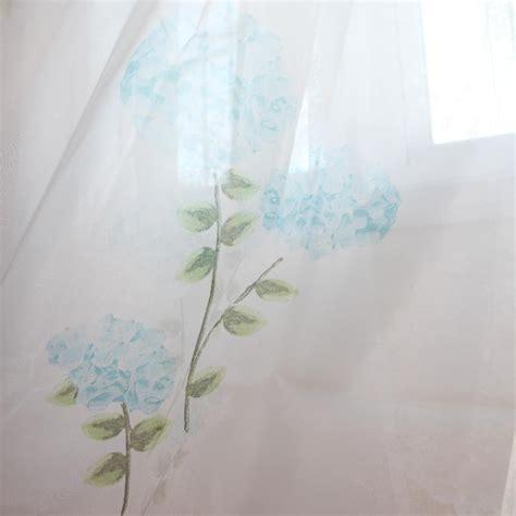 hydrangea curtain