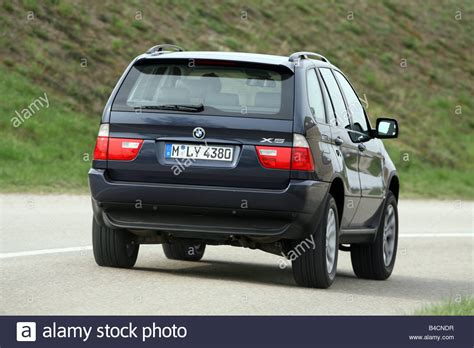 2003 bmw x5 manual backup bmw x5 3 0d model year 2003 black driving diagonal from the stock photo royalty free image