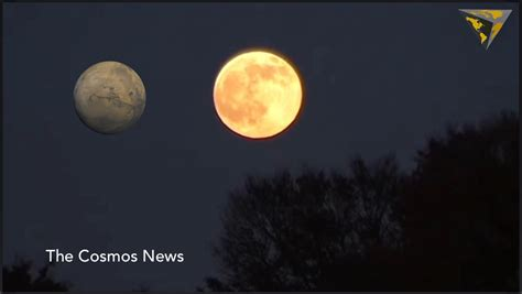 mars will not look the same size as the moon today august