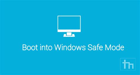 how to boot into safe mode in windows os