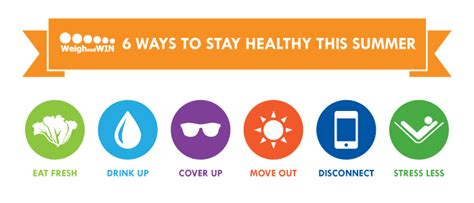 Ways To Stay All Summer by 6 Ways To Stay Healthy This Summer The Healthy Weigh