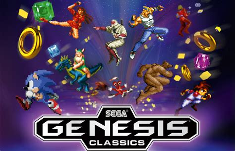 sega genesis classics collection set for may 29th