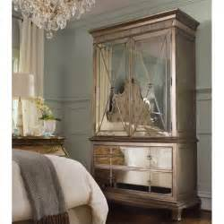 Mirrored Armoire Furniture by Furniture Sanctuary Mirror Armoire In Visage 3016