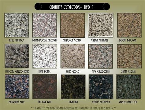 granite countertops colors search home