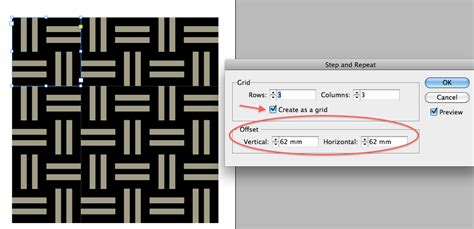 diagonal line pattern indesign document geek using indesign tables to design a geometric