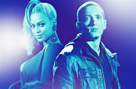eminem beyonce eminem and beyonce thrill social media with new song walk