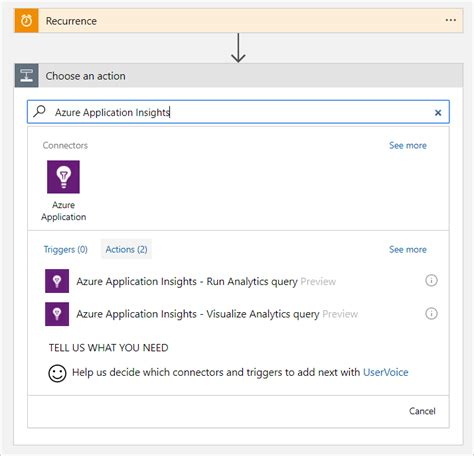 using app insights analytics query language to make better automate azure application insights processes with