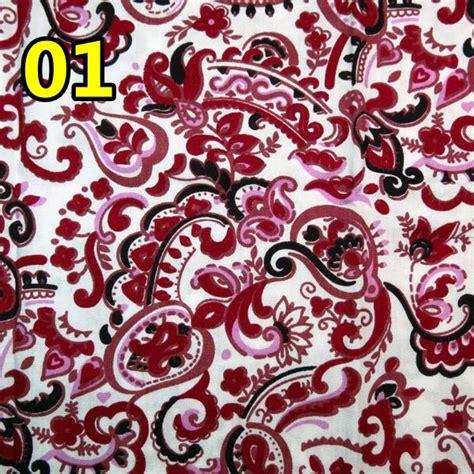 Kain Katun Batik kain katun batik merah crafts