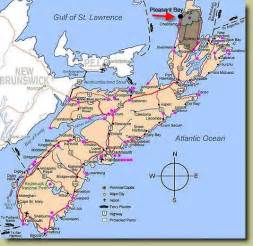 map of eastern canada and scotia map of scotia cities i used to live in places i