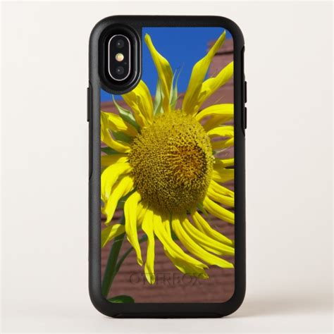 yellow sunflower floral otterbox symmetry iphone  case case