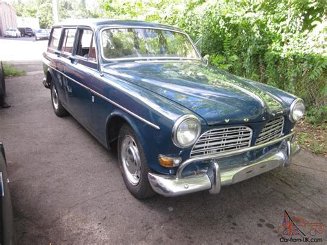 classic volvo sedan 1966 volvo 122s wagon thoroughly rebuilt classic vintage