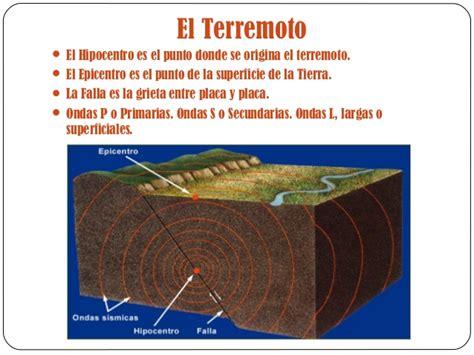 los terremotos como se origina terremotos