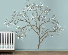 Large Tree Wall Sticker blossom tree extra large wall decal japanese cherry blossom