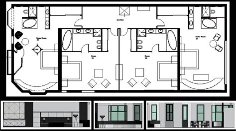 boutique hotel layout plan concept boutique hotel plans and elevations level i