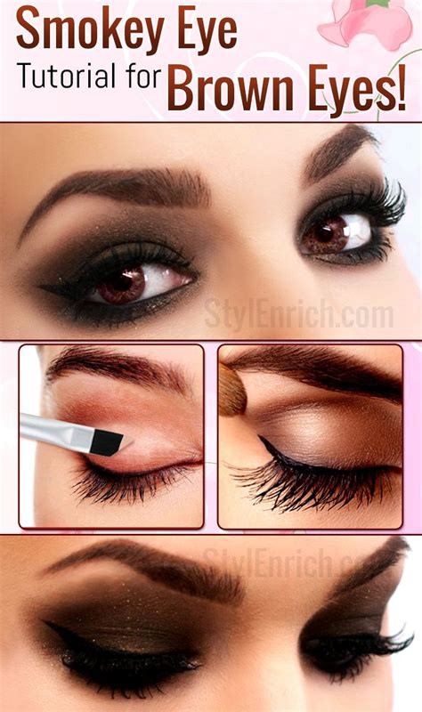 Eyeshadow Wardah Smokey brown smokey eye makeup tutorial saubhaya makeup