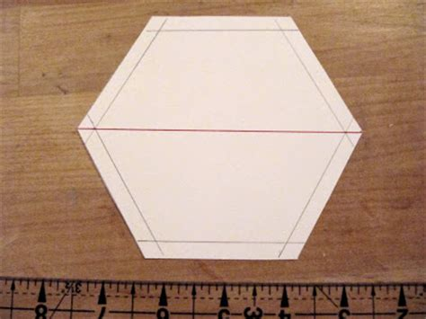 Half Hexagon Quilt Ruler by Sew Many Ways Machine Sewing Hexagons Half Hexies