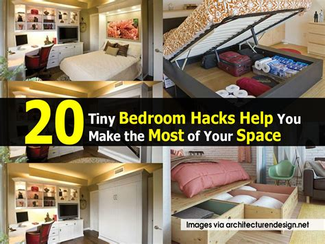 how to make the most of a small bedroom 20 tiny bedroom hacks help you make the most of your space