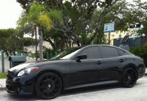 Infiniti M56 Custom Black Infiniti M56 Sport With Black Custom Rims