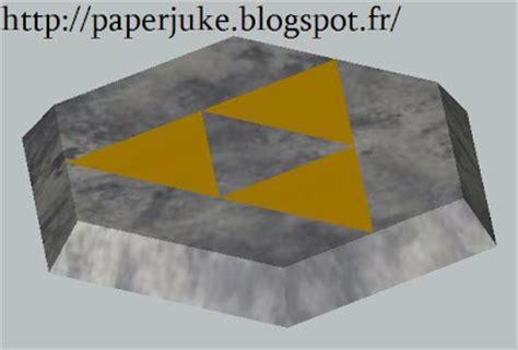 Origami Ocarina - ocarina of time socle papercraft papercraft paradise
