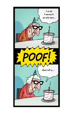 cartoon birthday ecards blue mountain quot careful what you wish for quot over the hill birthday