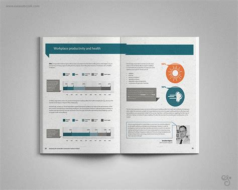report layout design ideas ewa sobczak report layout design