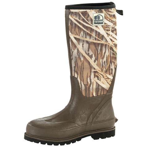 neoprene boots for s muckbuster 174 8 mm neoprene knee boots green 111813