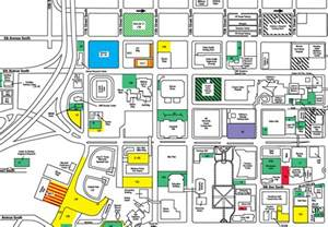 of parking map uab commencement parking