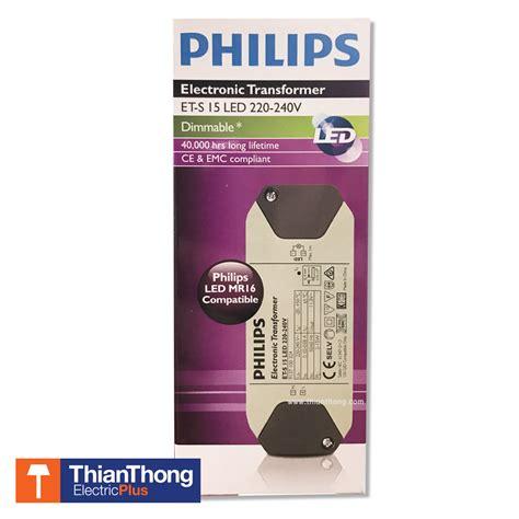 Philips Electronic Ballast Lu Halogen Led Et E 60 บ ลลาสต อ เล คโทรน ค ฟ ล ปส electronic transformer philips et s 15 led 220 240v เท ยนทองการ