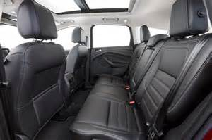 Ford Escape Seating Ford Escape Review And Rating Motor Trend