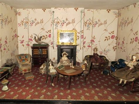 dolls house museum uk lounge or living room victoria and albert museum